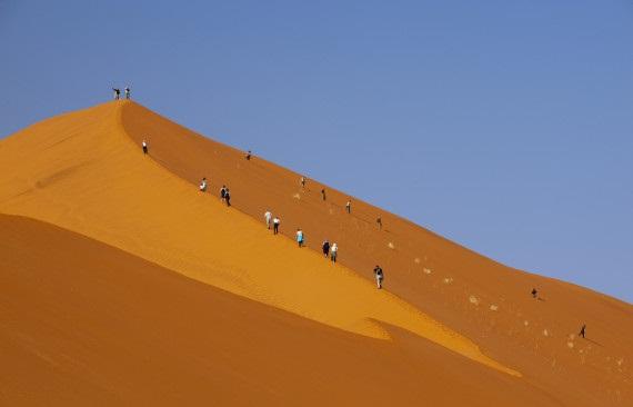 sables rouges de la Sossusvlei