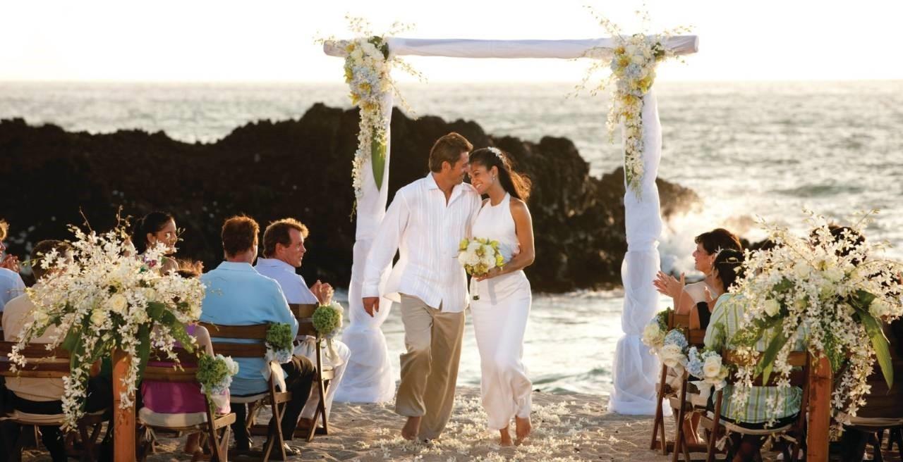 Se marier à l'étranger : le pourtour