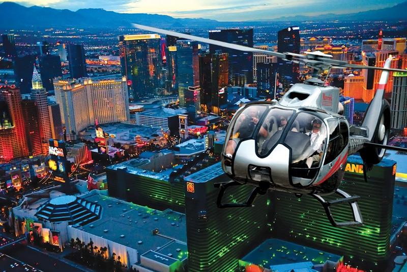vols en hélicoptère à Las Vegas