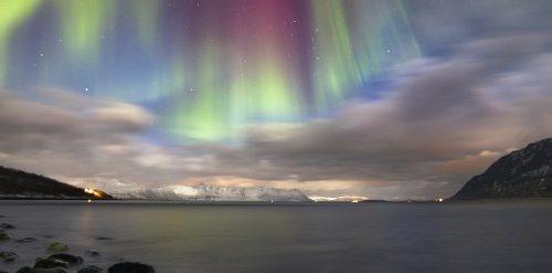 Contempler les aurores boréales dans le nord-norvégien